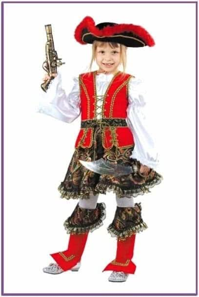 Детский костюм Хулиганки-Разбойницы