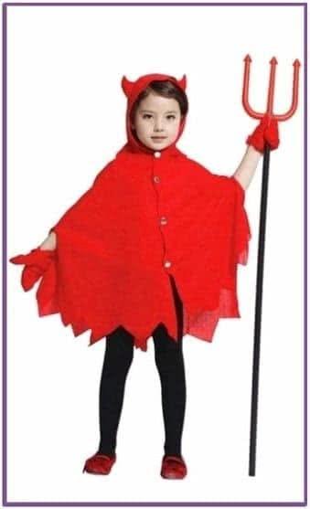 Детский костюм игривого чертенка