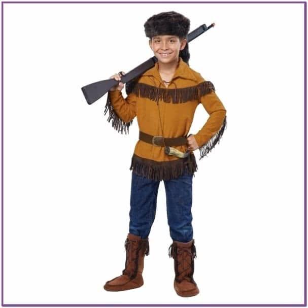 Детский костюм индейского мальчика