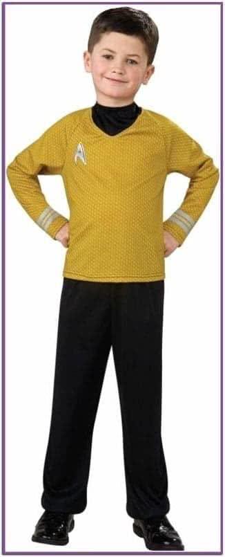 Детский костюм Капитана Кирка Star Trek