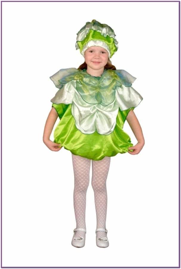 Детский костюм Капусты