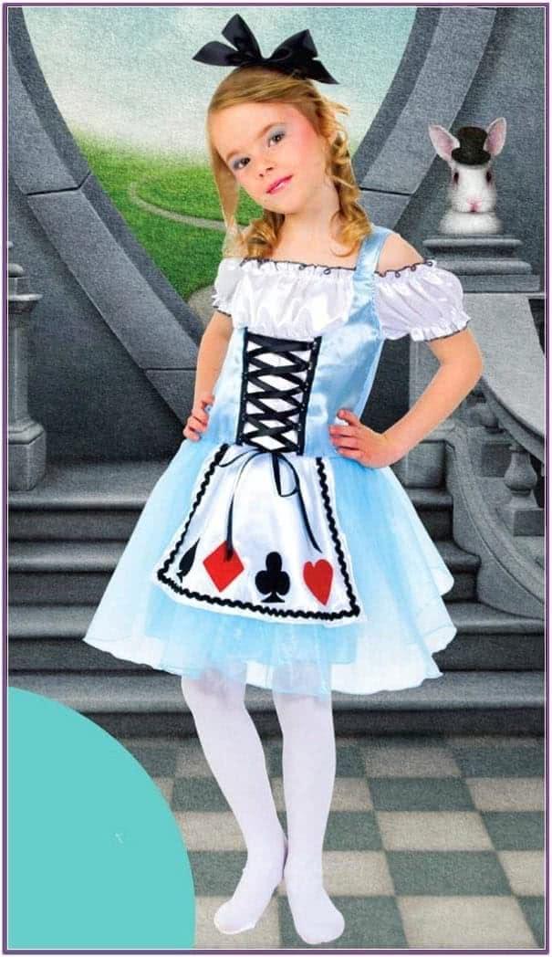 Детский Костюм Карточной Алисы