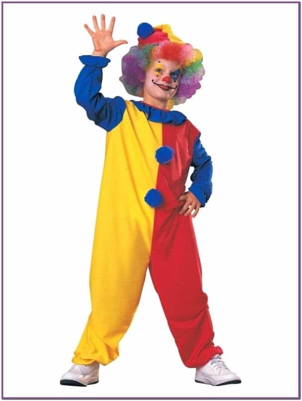 Детский костюм клоуна из ужасов