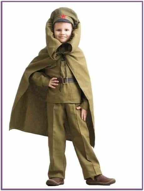 Детский костюм Командира