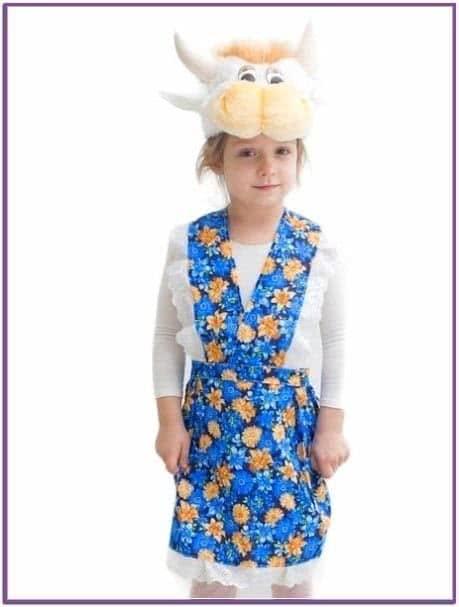 Детский костюм Коровушки