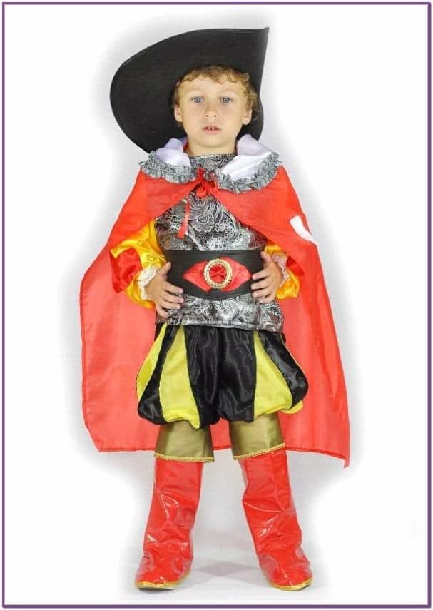 Детский костюм Кота в сапогах