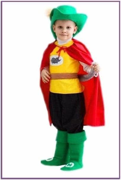 Детский костюм Котика в сапогах