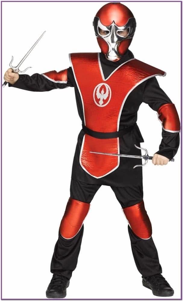 Детский костюм красного ниндзя