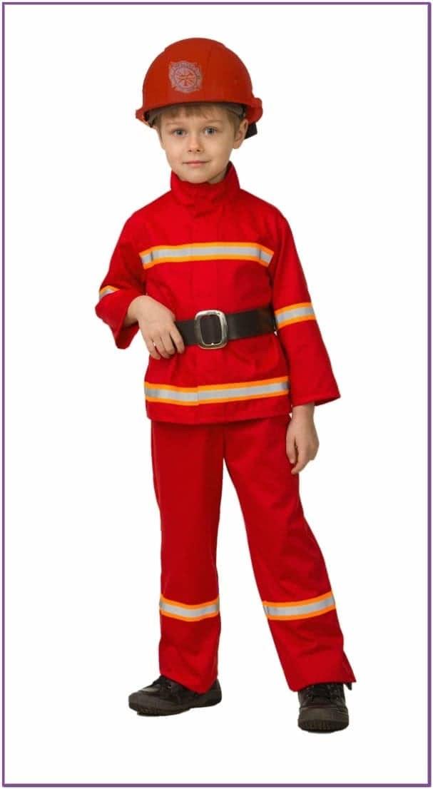 Детский костюм Красного Пожарного
