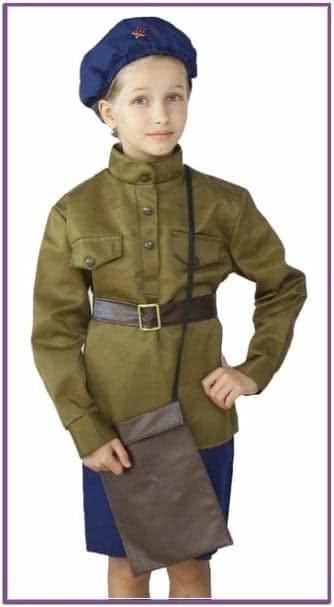 Детский костюм Летчицы