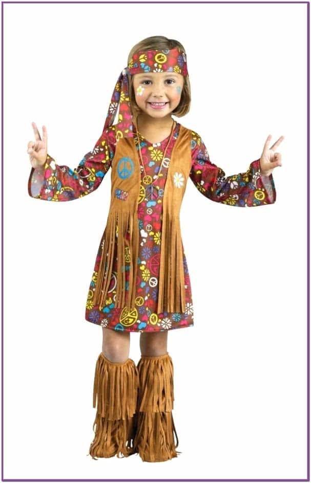 Детский костюм маленькой хиппи