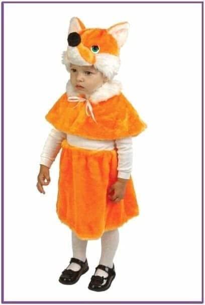Детский костюм маленькой лисички