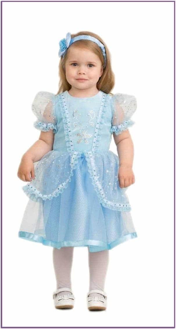 Детский костюм малышки Золушки