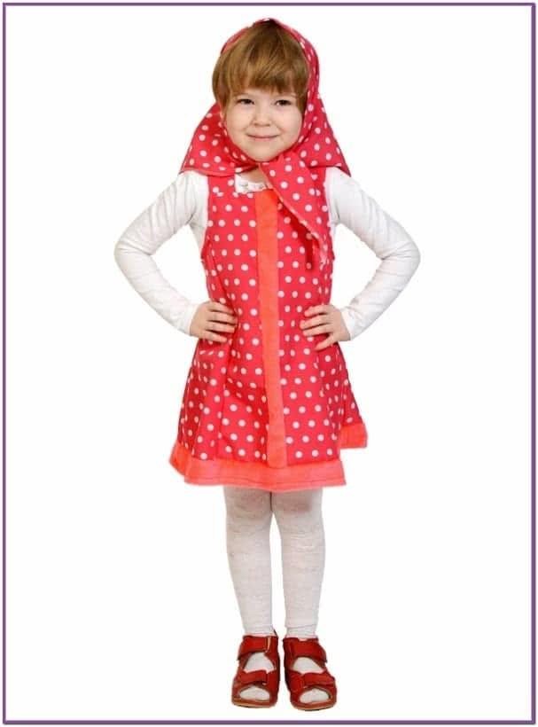Детский костюм Машеньки
