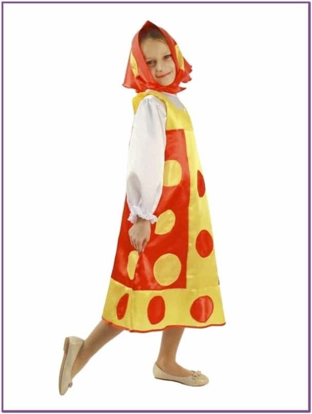 Детский костюм Матрешки