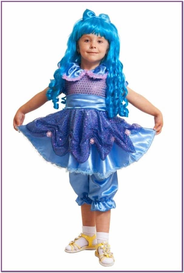 Детский костюм милашки Мальвины
