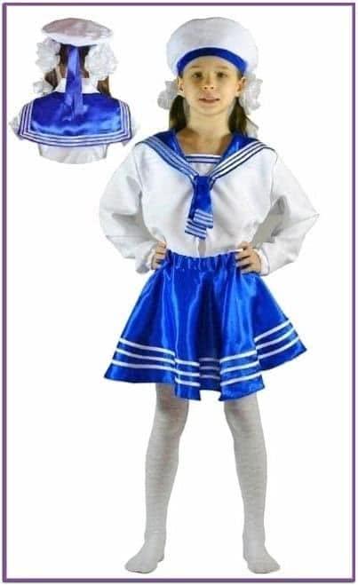 Детский костюм милая морячка