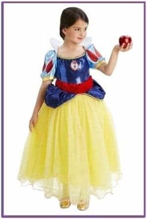 Детский костюм милой Белоснежки Deluxe