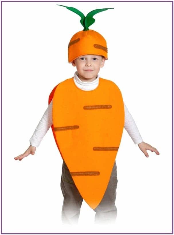Детский костюм Моркови