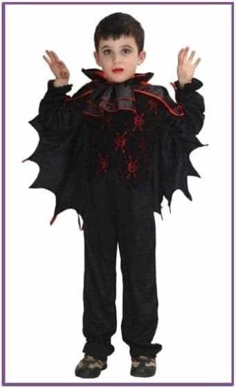 Детский костюм мрачного вампира