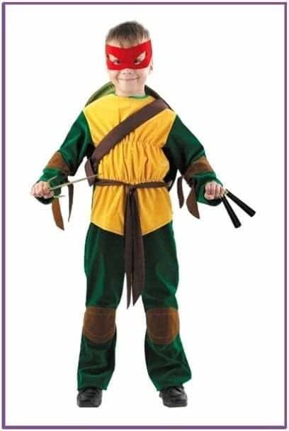 Детский костюм Ниндзя Черепашки