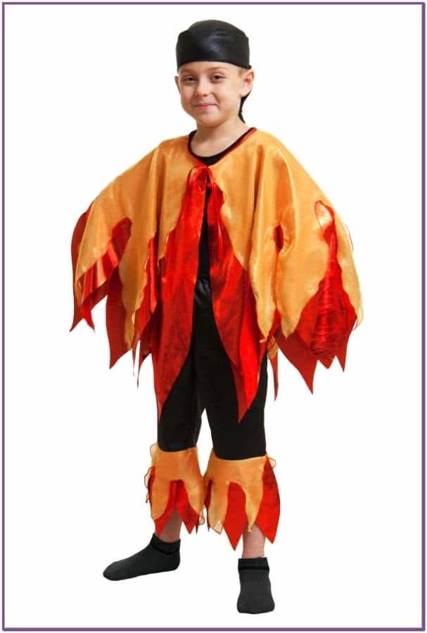 Детский костюм Огонь