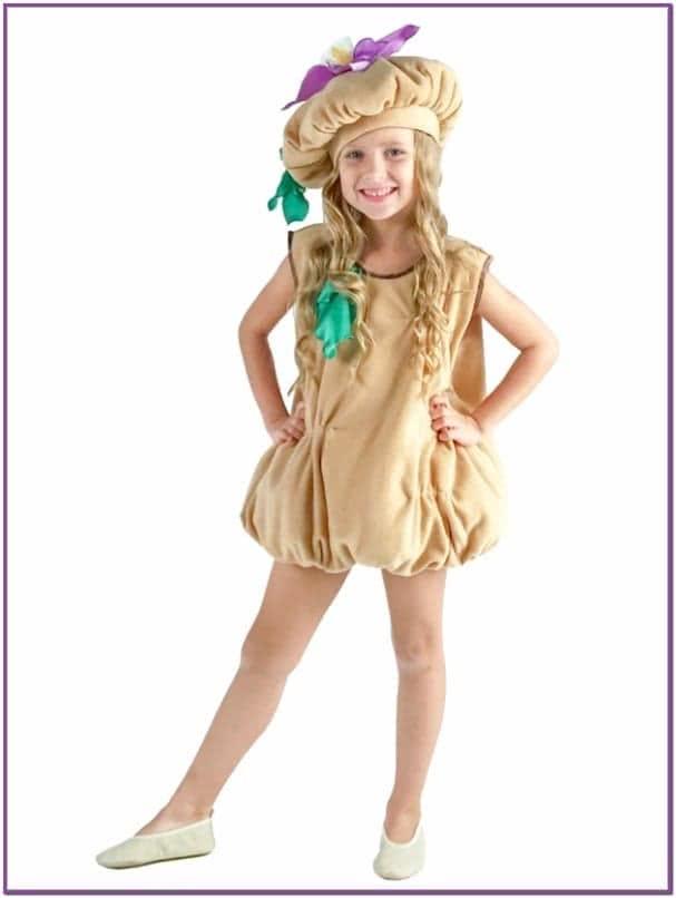 Детский костюм Огородной Картошки