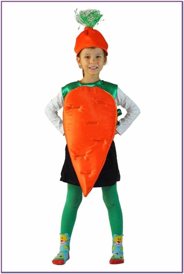 Детский костюм Оранжевой Морковки