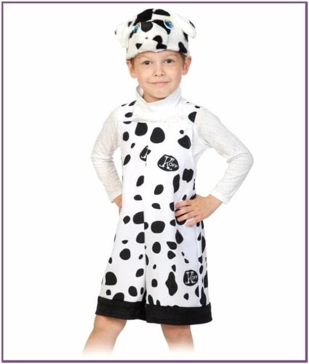 Детский костюм Песика Далматинца