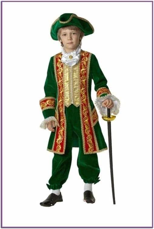 Детский костюм Петр-1