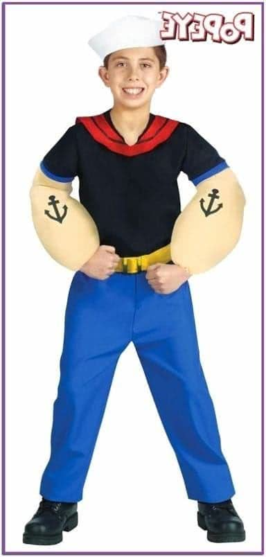 Детский костюм Попайя