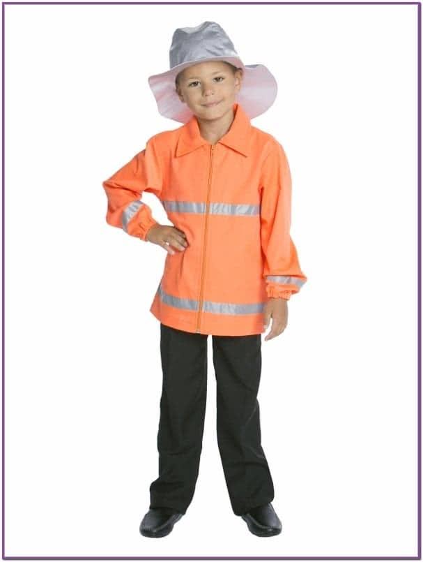Детский Костюм Пожарного в шлеме