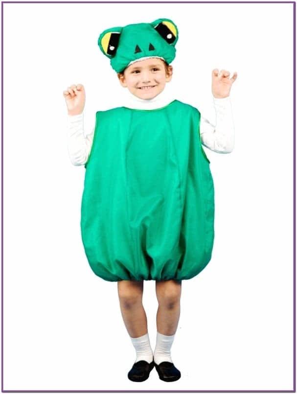 Детский костюм Прыгучего Лягушонка