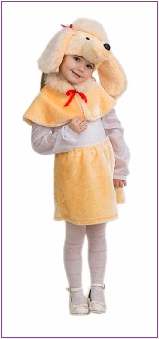 Детский костюм Пудель Ника