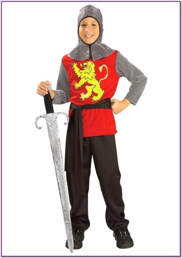 Детский костюм рыцаря турниров