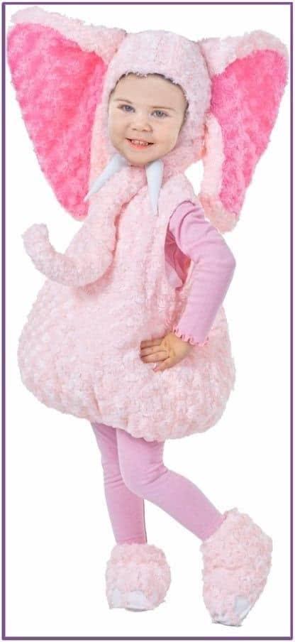 Детский костюм Розового Слоненка