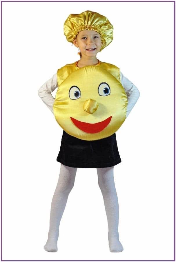 Детский костюм Румяного Колобка