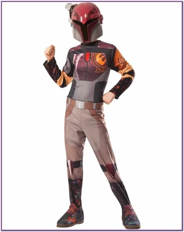 Детский костюм Сабин Врен Star Wars
