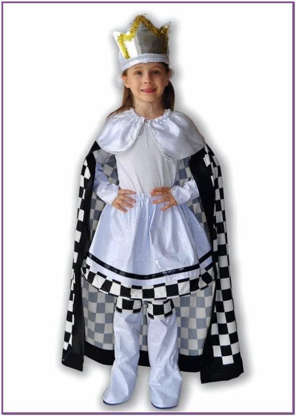 Детский костюм Шахматной Королевы