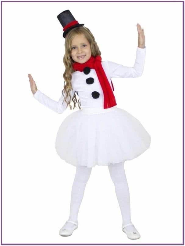 Детский костюм Снеговика Девочки