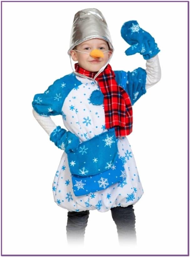 Детский костюм Снеговика Почтовика