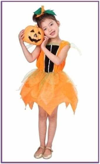 Детский костюм тыквенной феи