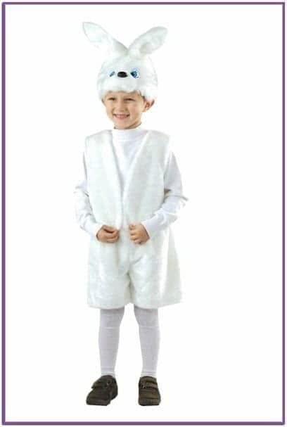 Детский костюм ушастого зайчика