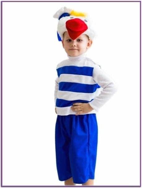 Детский костюм утенка