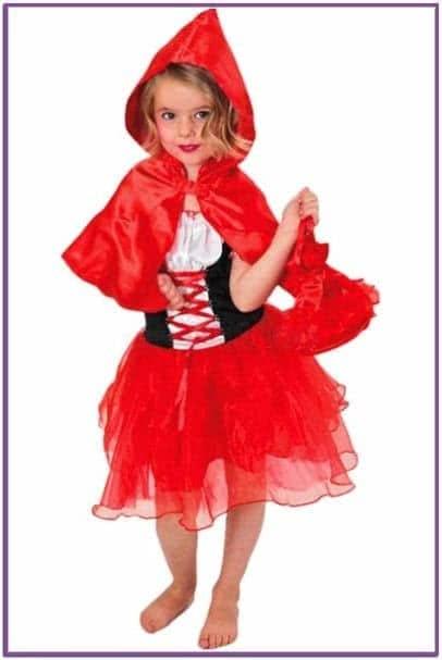 Детский костюм Веселой Красной шапочки