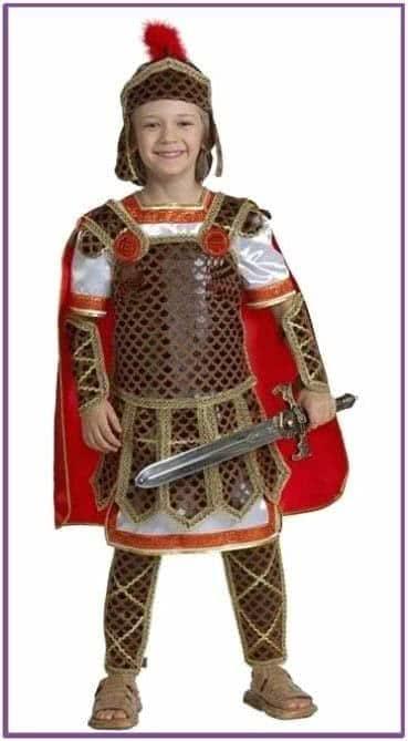 Детский костюм воинственного гладиатора