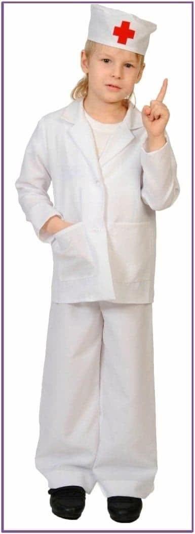 Детский костюм юного доктора