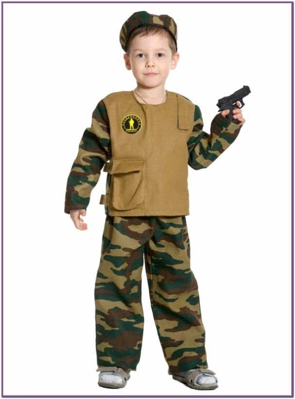 Детский костюм Юного Спецназовца