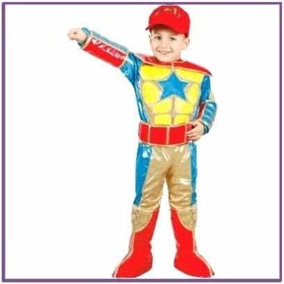 Детский костюм Юваль Супергерой