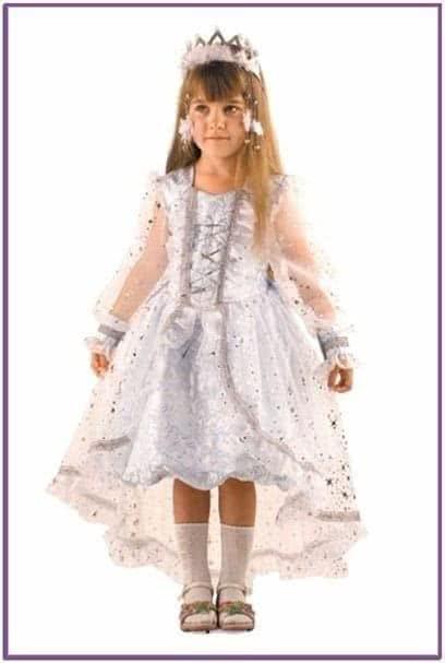 Детский костюм Загадочной снежинки